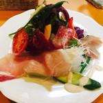 カフェレストラン EVANS'89 - レディースセットのサラダ