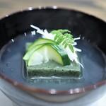 七草 - 蓬豆腐 薄葛仕立て