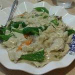台湾料理 八福 - 干し豆腐炒め物:今回一番人気♪