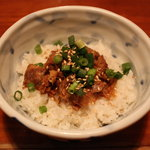 麺屋 よか○ - 肉めし