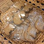 どうぶつしょうぎcafe いっぷく - ぞうさんのクッキー100円