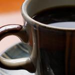 五十鈴川カフェ - 陶器の質感もステキ。