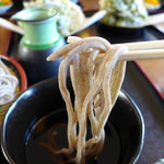 竹下 - 料理写真:ご主人が育てたお蕎麦です。