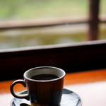 五十鈴川カフェ - 眠気覚ましにブラックで。