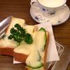 ロッセ - 料理写真:チーズトースト&ウィンナー珈琲♡
