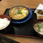くまもと - かつ玉子とじ(600円)