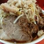 ラーメン二郎 - 豚ダブルラーメン900円