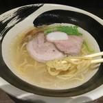 麺処ガンテツ - 塩ラーメン 750円