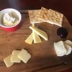 燻製マーケット - チーズ盛り合わせ