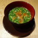 JASMINE 和心漢菜 - 桜海老と青菜入りコラーゲン鶏白湯麺