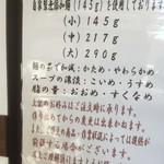 66545129 - 170502火 東京 中華そば 一颯 小でも145g
