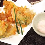 さくらみち - 桜海老のかき揚げ