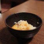 龍音 - 〆は焼きすきの旨味が入った卵でTKG☆