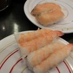 海都 - えび、サーモン焼きハラス各108円