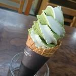 高松屋 - バニラ&抹茶アイス@350