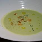 miura - グリーンピースのポタージュ