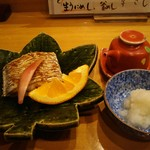はかた遊膳 - 太刀魚塩焼き