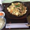 西日本カントリークラブ - 料理写真:ホルモン鉄板膳=300円の差額 ご飯・味噌汁付
