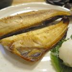 リゾム - ホッケの開き定食(1000円)