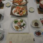 富士屋 - 料理写真:夕食