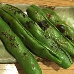 東池袋 魚金 - 焼き空豆680円