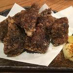 東池袋 魚金 - まぐろ竜田揚げ480円