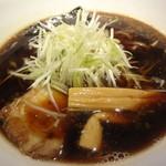麺匠 えい蔵 - 小樽黒醤油ラーメンアップ