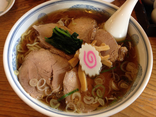 いけまつ - チャーシュー麺(900円)+大盛(100円)