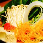 66553787 - しゃぶしゃぶのお野菜