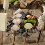 高森田楽の里 - とうふ、つるのこ芋、サワガニ、やまめ