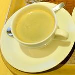 関口フランスパン - ホットコーヒー320円
