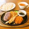 ステーキのどん - 料理写真:日替わり ライス スープ
