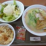 スガキヤ - 料理写真:'17/05/02 まるごとミニST(税込590円)