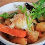 海と畑の台所 Cocopelli Shrimp - えびのまぶし丼