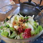 海と畑の台所 Cocopelli Shrimp - えびのまぶし丼のサラダ