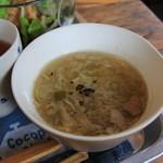 海と畑の台所 Cocopelli Shrimp - トロミのあるスープ