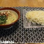 矢島製麺所 - 冷汁で生ひやむぎ