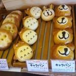 ラ・パン - キャラクターパンが可愛いね