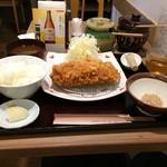 かわみ - ローストンカツ定食950円です(2017.5.5)