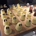 サマーバード オーガニック - ハロウィンのオバケチョコレート大の陳列