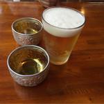 アンコール・ワット - とりあえずランチビール