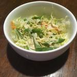 タルカリ - セットのサラダ