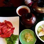 焼肉ひまわり - 赤身ももランチW