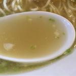 うえんで食堂 - 会津地鶏そば・塩