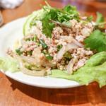 アムリタ食堂 - ひき肉炒め