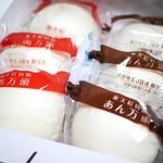 東天紅 - 特製饅頭 6ヶ詰(肉まん3あんまん3)¥2050