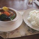 ツーサム - スープカレーセット