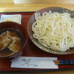 小高 - ざるうどん(肉汁)