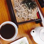 河内うどん屋 - ざる蕎麦