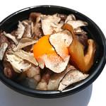 十番右京 - トリュフすき焼きご飯